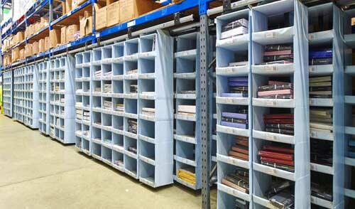 Storeganizer in Warehouse Rack