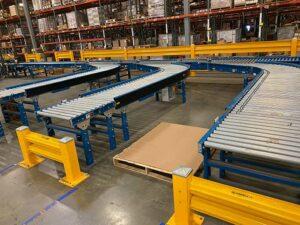 runs of used conveyor