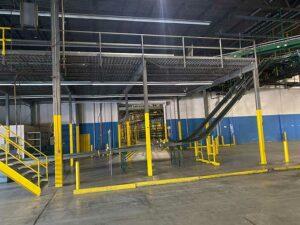 Used warehouse mezzanine